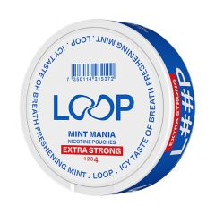 LOOP Mint Mania Slim Extra Strong 20mg